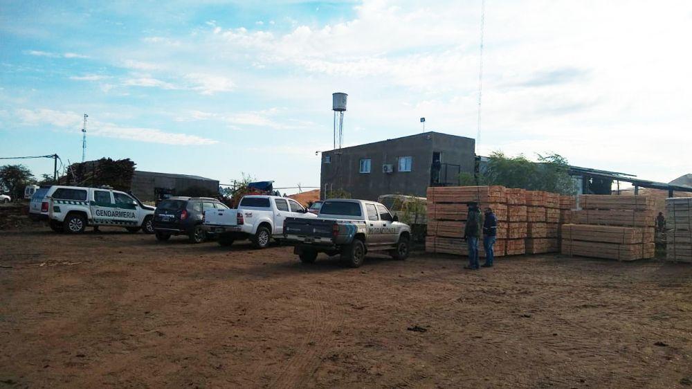 Por trata de personas allanaron siete aserraderos en Juan Pujol