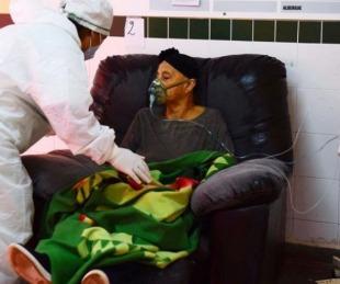 foto: Coronavirus: alerta roja en Paraguay por desborde sanitario