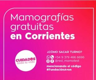 foto: Realizan mamografías gratuitas en Corrientes y otras cuatro provincias
