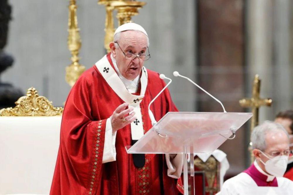 El papa dijo que la propiedad privada es un derecho secundario