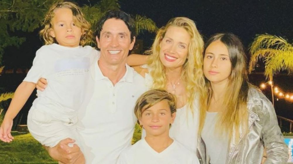 Sebastián Estevanez confirmó que espera su cuarto hijo con Ivana