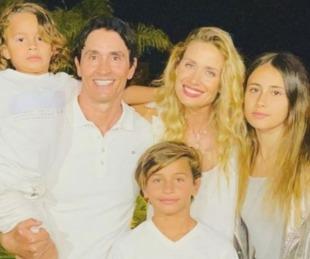 foto: Sebastián Estevanez confirmó que espera su cuarto hijo con Ivana