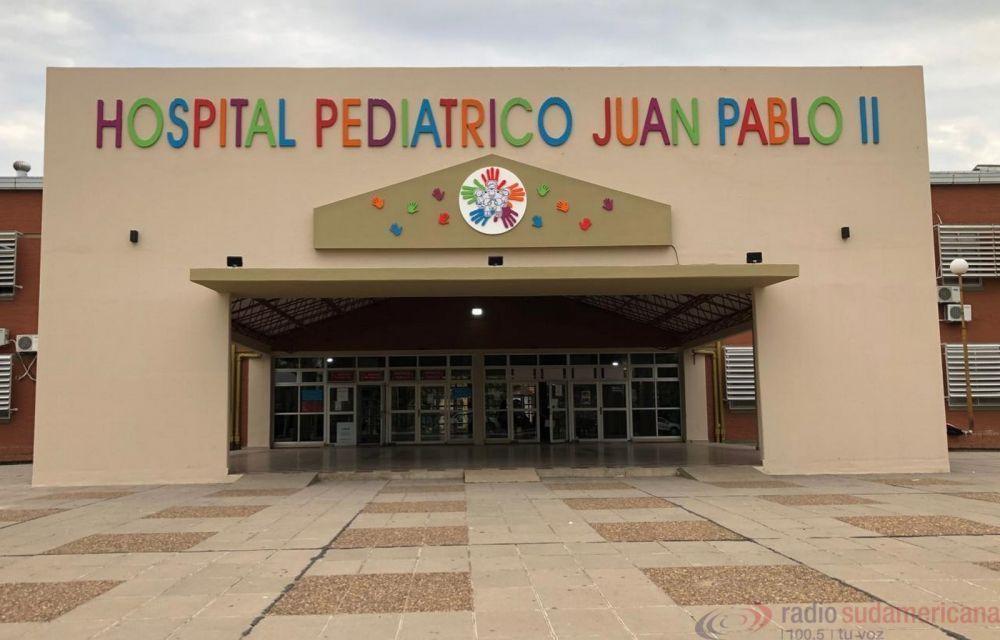 Hospital Pediátrico: ya son dos los niños internados en terapia Covid