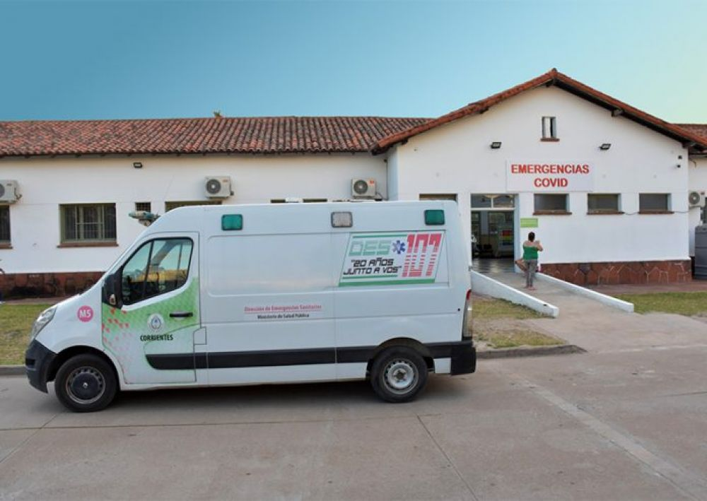 Corrientes registró 7 nuevos muertos en el Hospital de Campaña