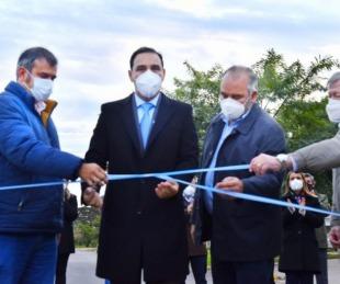 foto: Valdés inauguró refacciones de la Escuela Normal en Itatí