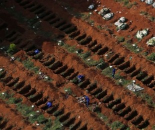 foto: Récord: Brasil ya superó las 500.000 muertes por COVID-19 en total