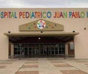 foto: Hay cuatro chicos internados con Covid 19 en el Hospital Pediátrico