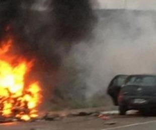 foto: Murió un soldado correntino tras un fuerte choque en Río Negro