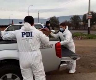 foto: Mató a su pareja y trasladó el cuerpo sobre una carretilla por la calle