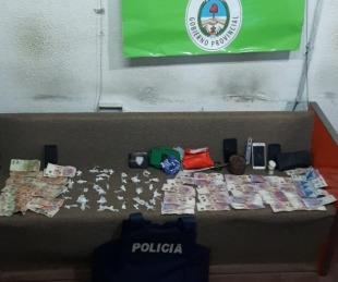 foto: Manejaban un punto de venta de diversas drogas y los detuvieron
