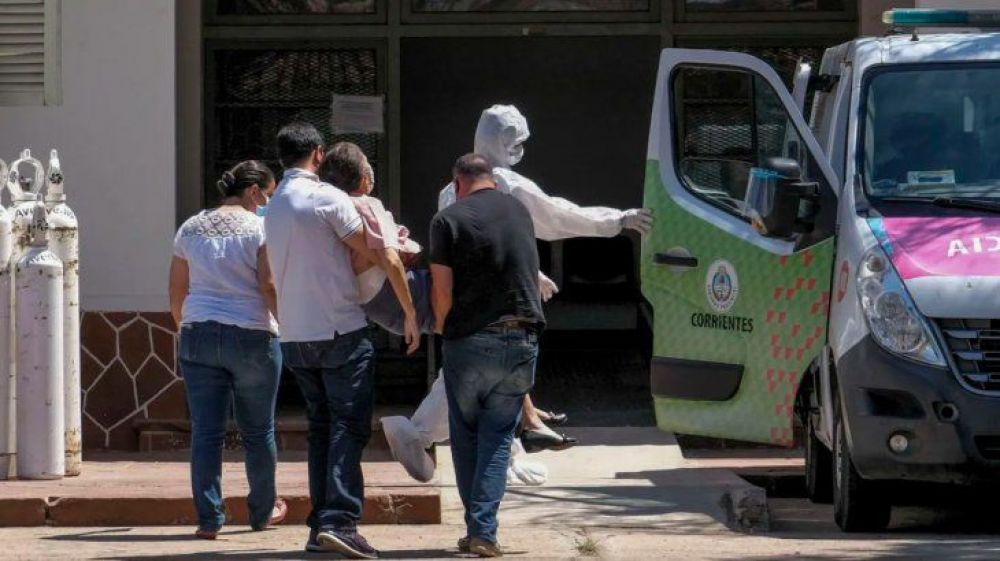 Corrientes sumó 8 muertos por Covid y la cifra total es de 1079