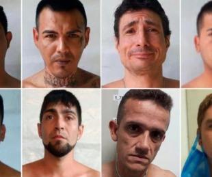foto: Son cuatro los recapturados de la cárcel de Rosario: quedan cuatro más