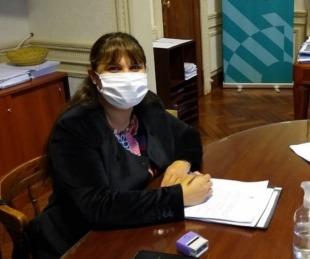 foto: Lucrecia Vásquez fortaleció alianza para reelección en Lavalle