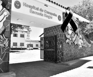 foto: Hospital de Campaña: Murió la mamá de un bebé con COVID-19