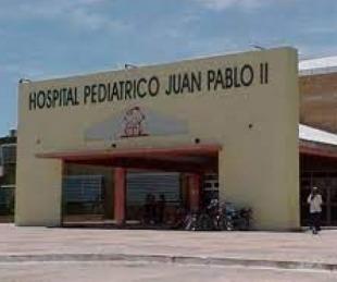 foto: Hay cinco chicos internados con Covid-19 en el Hospital Pediátrico