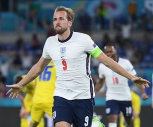 foto: Inglaterra aplastó a Ucrania para pasar a semifinales de la Eurocopa