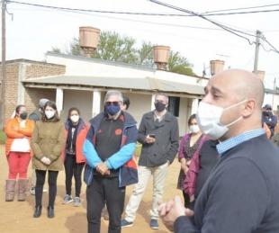 foto: Ascúa implementó seguridad para colaborar con la Policía y los vecinos