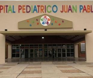 foto: Hay 5 pacientes internados con Covid 19 en el Hospital Pediátrico