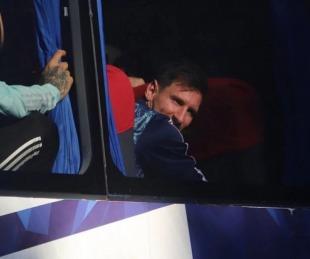 foto: Así se recibió a la selección argentina ni bien arribó con la copa