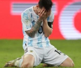 foto: El post de Messi tras ganar la copa: