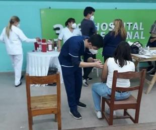 foto: Goya: Esta semana comenzó la vacunación para mayores de 18 años