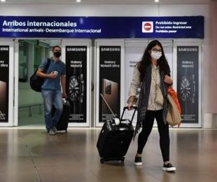 foto: Son 9 casos de la variante Delta en argentinos que regresaron al país