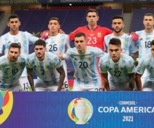 foto: 4 argentinos fueron elegidos en el Equipo Ideal de la Copa América
