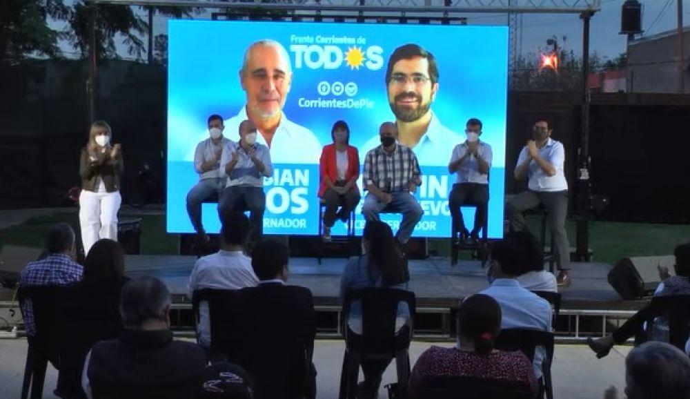 El Frente Corrientes de Todos presentó a todos sus candidatos