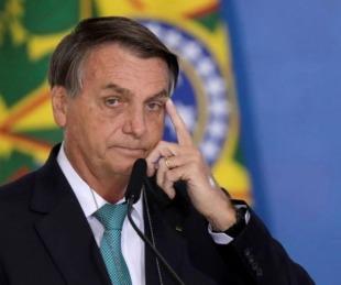 foto: Preocupación en Brasil: Jair Bolsonaro fue internado en Brasilia