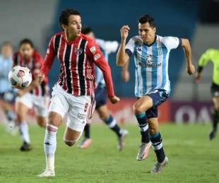 foto: Copa Libertadores: Racing igualó en San Pablo y quedó bien parado