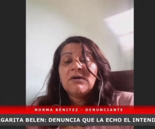 foto: Chaco: La desplazaron por un posteo que no le gustó al intendente