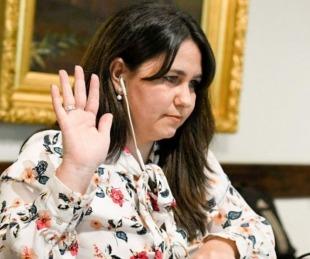 foto: Habló Ana Almirón y dijo que el candidato oficial lo decide Cristina