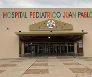 foto: Hay 4 pacientes internados con Covid 19 en el Hospital Pediátrico