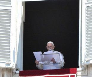 foto: Francisco volvió a su ventana y pidió una sociedad más justa