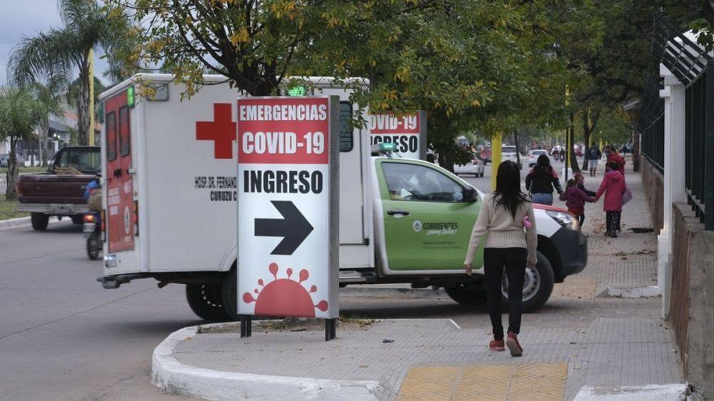 Siete nuevos muertos por Covid en Corrientes elevan el total a 1.214