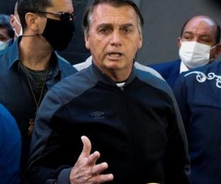 foto: Bolsonaro recibió el alta médica tras padecer obstrucción intestinal
