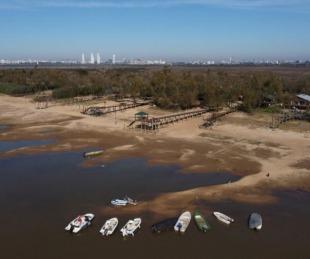 foto: Bajante del Paraná: Nación pide limitar el consumo de agua