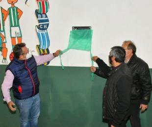 foto: Provincia inauguró obras de refacción en el Club Sportivo de Capital