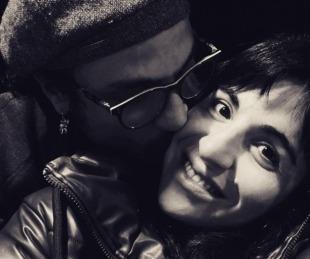 foto: Daniel Osvaldo le declaró su amor públicamente a Gianinna Maradona