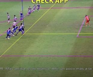 El audio del VAR en el gol anulado de Boca ante Atlético Mineiro