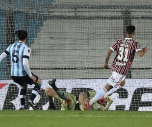 foto: Racing cayó 3-1 con San Pablo en Avellaneda y fue eliminado