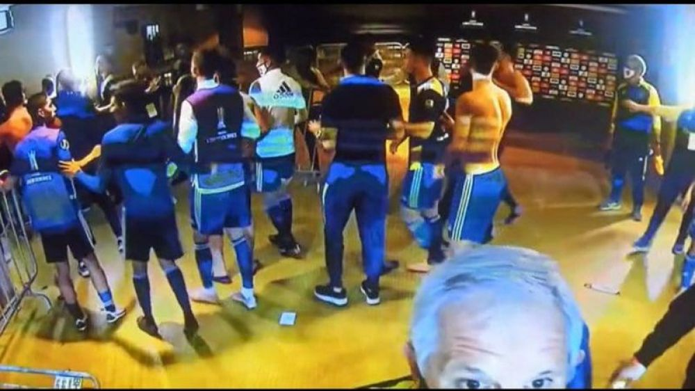 Boca pasó la noche en Brasil: quiénes son los 9 imputados