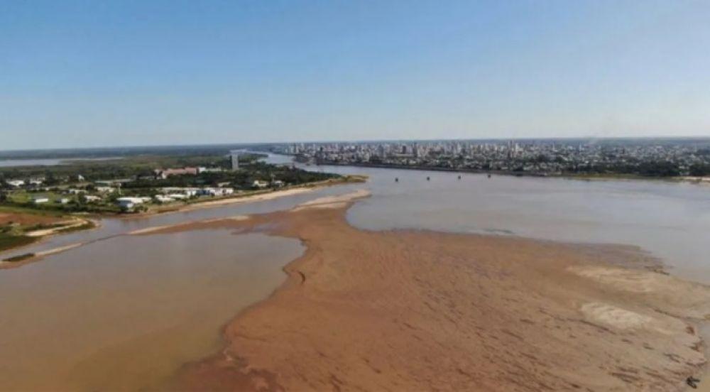 El periodo de dos años de bajante del Paraná es el más largo
