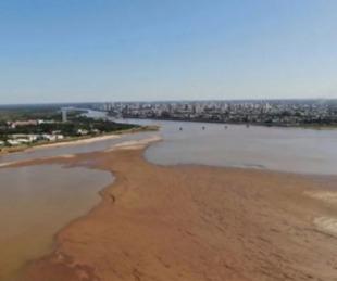 foto: El periodo de dos años de bajante del Paraná es el más largo