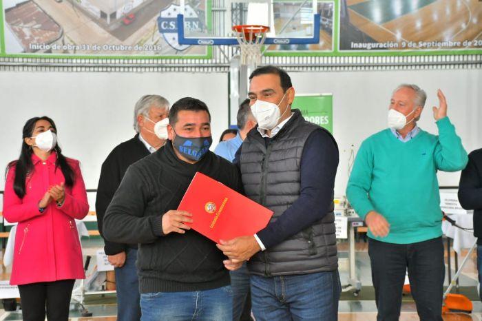 Valdés instó a unir esfuerzos para construir una sociedad más justa