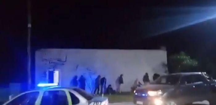 Policías interrumpieron una fiesta por el Día del Amigo en Goya