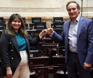 foto: Camau y Ana Almirón serán los candidatos a senadores nacionales