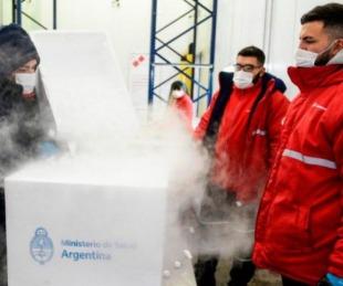 foto: El próximo lunes llegan al país 500 litros del principio activo del componente 2 de la Sputnik V