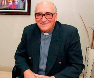 foto: El padre Ceschi sufrió otro ACV y piden orar por su salud
