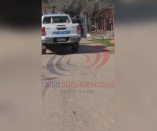 foto: Policía baleó a un perro a la vista de los vecinos en Chaco